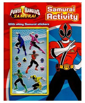 Power Rangers Activity Book Power Rangers Samurai - English