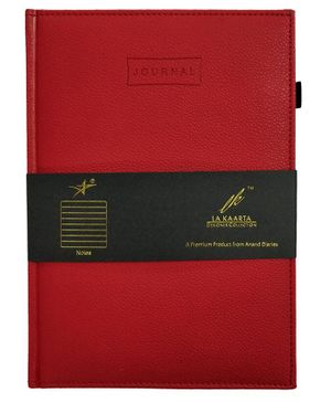 La Kaarta A5 Journal Red & Black - 224 Pages