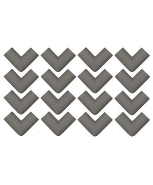 Store2508 Corner Guards Pack of 16 - Grey