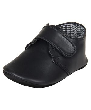 Beanz Velcro Closure Casual Shoes - Black
