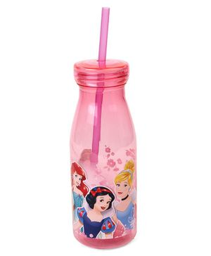 Disney Princess Tumbler With Straw Pink - 500 ml