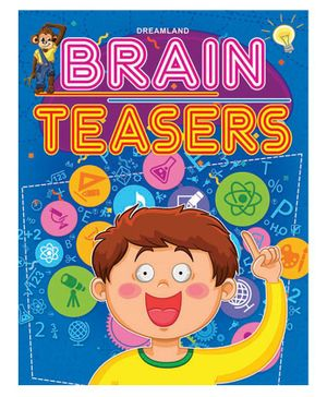 Brain Teasers Activity Book - English
