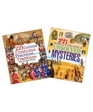 Customs And Practices & Unsolved Mysteries Encyclopedia Set of 2 - English