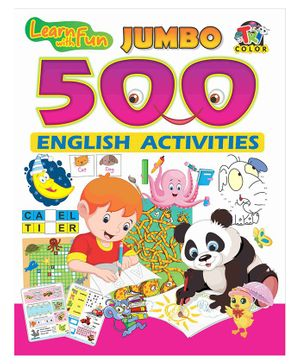 Jumbo 500 English Activity Book - English