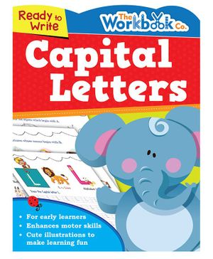 Ready To Write Capital Letters - English