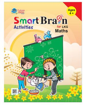 Smart Brain Activities For LKG Maths - English
