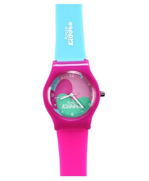 Smilykiddos Analog Kids Watch - Pink