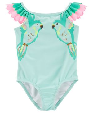 Carter's Bird 1-Piece Swimsuit - Blue