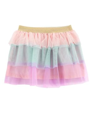 Carter's Rainbow Tulle Skirt - Multicolour