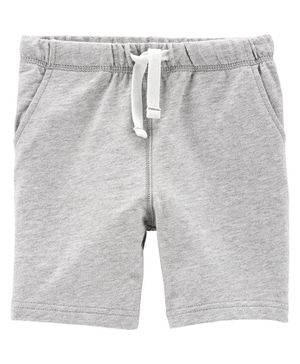 Carter's Pull-On French Terry Shorts - Grey