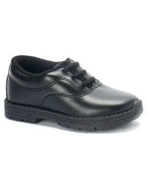 Prefect By Liberty School Shoes With Tie Up Style - Black