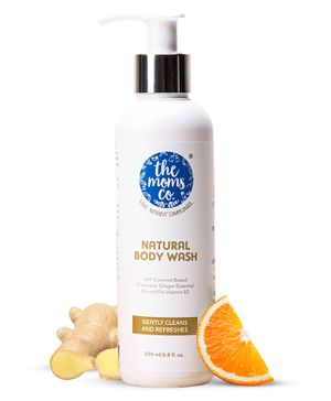 The Moms Co Natural Body Wash - 200 ml