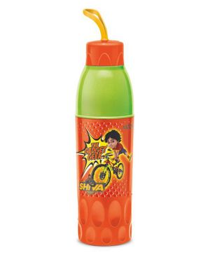Milton Shiva Water Bottle Orange & Green - 650 ml
