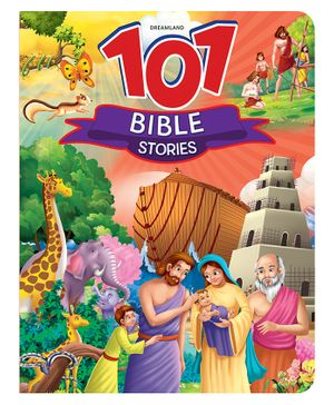 101 Bible Stories Story Book Multi Colour - 64 Pages