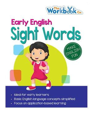 Sight Words Book - English