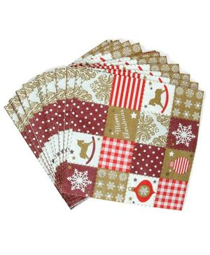 Party Anthem Merry Christmas Paper Napkins - Pack of 40 Sheets