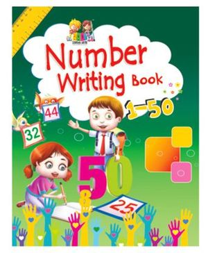 Number Writing Book - English