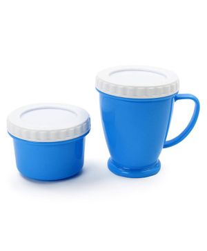 Mug & Container Set - Blue