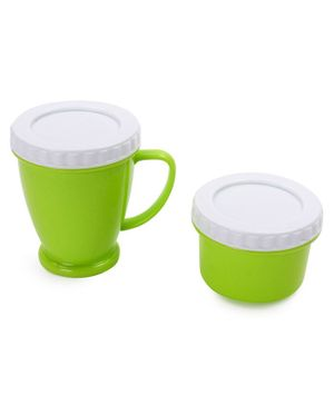 Mug & Container Set - Green