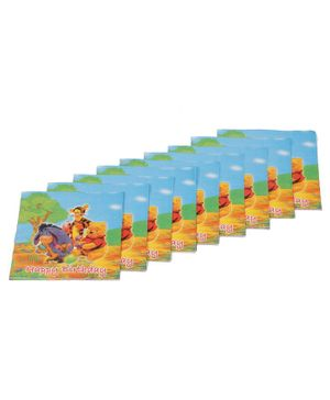 Funcart Winnie The Pooh Themed Paper Napkins Set of 9 - Multicolour