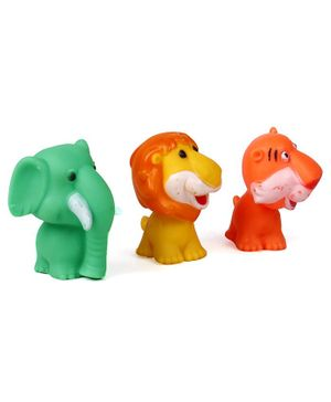 Ratnas Squeezy Animal Bath Toys Pack of 3 - Multicolour
