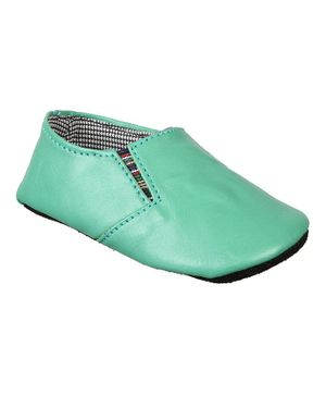 Beanz Son Prammy Booties - Green