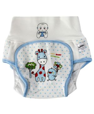 Kassy Pop Baby Diaper Training Pants Size Large - Blue