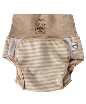 Kassy Pop Baby Diaper Training Pants Size Large - Brown