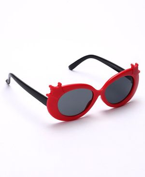 Babyhug Sunglasses - Red & Black