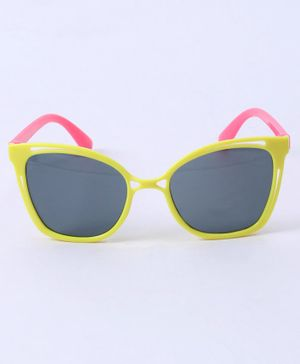 Babyhug Kids Sunglasses - Pink Yellow