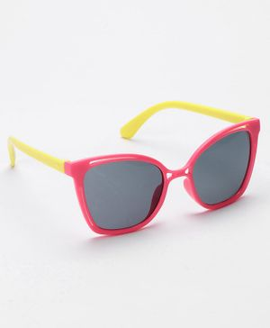 Babyhug Kids Sunglasses - Red Yellow