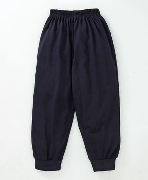 Fido Full Length Solid Colour Lounge Pant - Dark Navy Blue