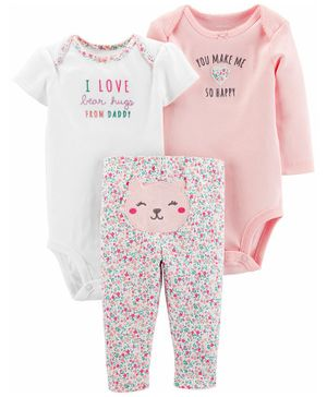 Carter's 3 - Piece Little Character Set - Pink