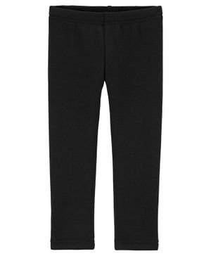 Carter's Cozy Fleece Leggings - Black