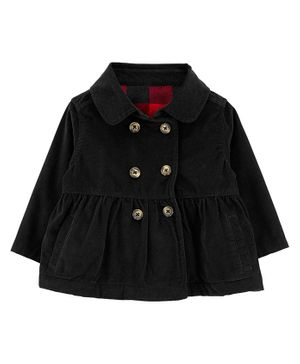 Carter's Corduroy Coat - Black