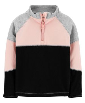 Carter's Colorblock Half-Zip Active Jacket - Multicolor