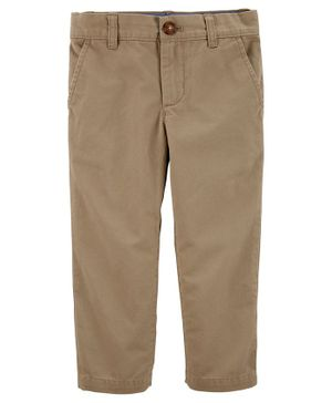 Carter's Twill Pants - Brown