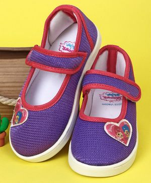 Shimmer & Shine Casual Shoes Heart Patch - Purple