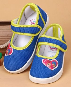 Shimmer & Shine Casual Shoes Heart Patch - Blue