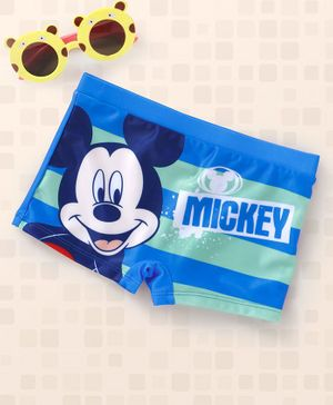 Disney Mickey Mouse Swimming Trunks - Blue