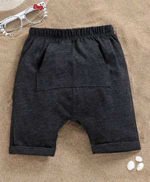 Fox Baby Solid Colour Diaper Shorts - Black