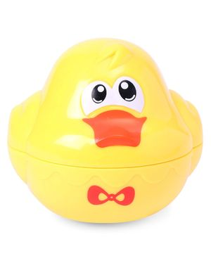 Duck Shape Baby Bath Toy - Yellow