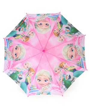 John's Umbrellas Frozen Princess Print - Pink