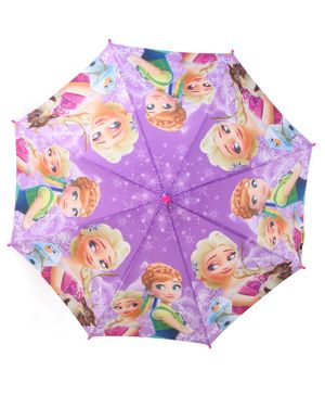 John's Umbrellas Frozen Princess Print - Purple