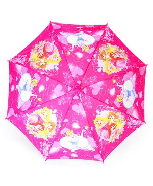 John's Umbrellas Disney Princess Print - Pink
