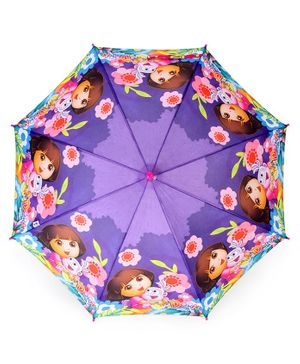 John's Umbrellas Dora Print -  Purple