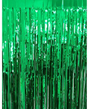 Syga Party Foil Curtain - Green
