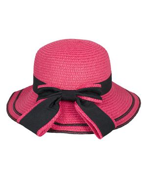 Kidofash Bow Detailed Hat - Pink