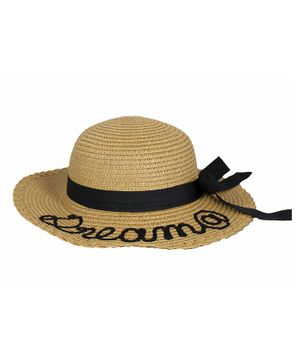 Kidofash Dream Embroidered Hat - Brown