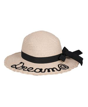Kidofash Dream Embroidered Hat - Peach